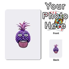 Funny Fruit Face Head Character Multi-purpose Cards (Rectangle)
