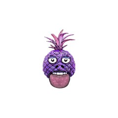 Funny Fruit Face Head Character Birthday Cake 3D Greeting Card (7x5)