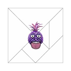 Funny Fruit Face Head Character Acrylic Tangram Puzzle (6  x 6 )