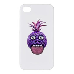 Funny Fruit Face Head Character Apple iPhone 4/4S Premium Hardshell Case