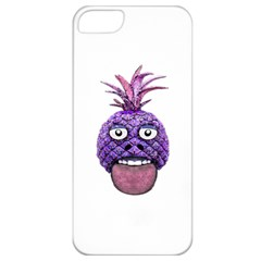 Funny Fruit Face Head Character Apple iPhone 5 Classic Hardshell Case