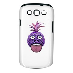 Funny Fruit Face Head Character Samsung Galaxy S III Classic Hardshell Case (PC+Silicone)
