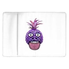Funny Fruit Face Head Character Samsung Galaxy Tab 10 1  P7500 Flip Case