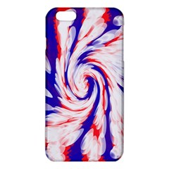 Groovy Red White Blue Swirl Iphone 6 Plus/6s Plus Tpu Case