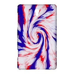 Groovy Red White Blue Swirl Samsung Galaxy Tab S (8.4 ) Hardshell Case