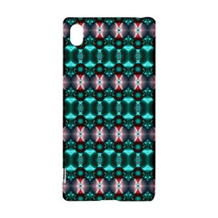 Fancy Teal Red Pattern Sony Xperia Z3+