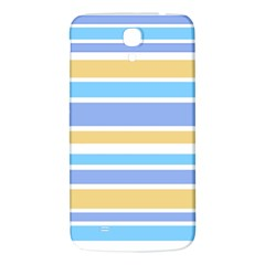 Blue Yellow Stripes Samsung Galaxy Mega I9200 Hardshell Back Case