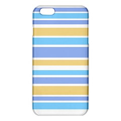 Blue Yellow Stripes iPhone 6 Plus/6S Plus TPU Case