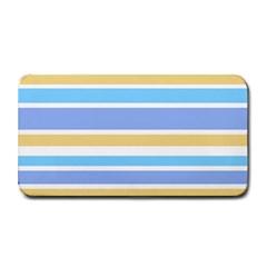 Blue Yellow Stripes Medium Bar Mats