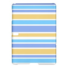 Blue Yellow Stripes Samsung Galaxy Tab S (10.5 ) Hardshell Case