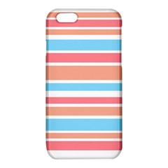 Orange Blue Stripes iPhone 6/6S TPU Case