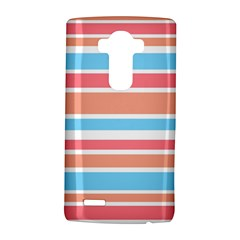 Orange Blue Stripes Lg G4 Hardshell Case