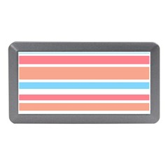 Orange Blue Stripes Memory Card Reader (mini)