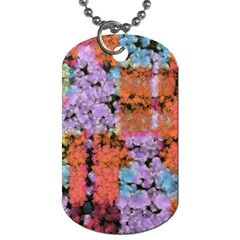 Paint texture                                     			Dog Tag (One Side)