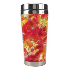 Colorful Splatters                                      Stainless Steel Travel Tumbler