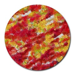 Colorful Splatters                                      Round Mousepad