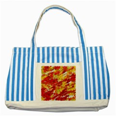 Colorful Splatters                                      			Striped Blue Tote Bag