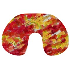 Colorful Splatters                                      Travel Neck Pillow