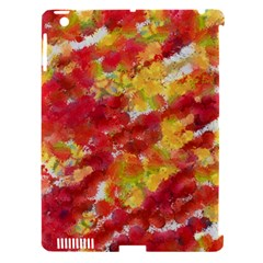 Colorful Splatters                                      			Apple iPad 3/4 Hardshell Case (Compatible with Smart Cover)