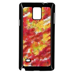 Colorful Splatters                                      Samsung Galaxy Note 4 Case (Black)