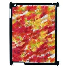 Colorful Splatters                                      Apple iPad 2 Case (Black)