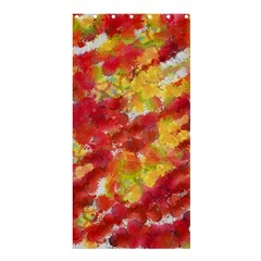Colorful Splatters                                      	Shower Curtain 36  x 72