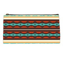 Stripes and rhombus chains                                      Pencil Case