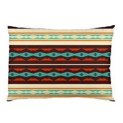 Stripes and rhombus chains                                      			Pillow Case