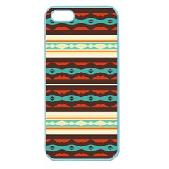 Stripes and rhombus chains                                      Apple Seamless iPhone 5 Case (Color)