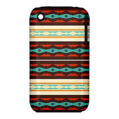 Stripes and rhombus chains                                      Apple iPhone 3G/3GS Hardshell Case (PC+Silicone)