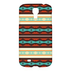 Stripes and rhombus chains                                      			Samsung Galaxy S4 I9500/I9505 Hardshell Case