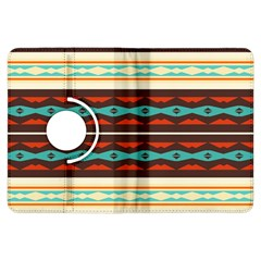 Stripes and rhombus chains                                      			Kindle Fire HDX Flip 360 Case