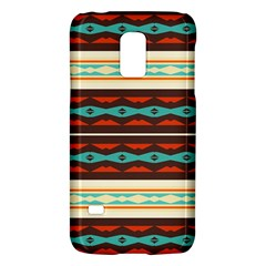 Stripes and rhombus chains                                      			Samsung Galaxy S5 Mini Hardshell Case