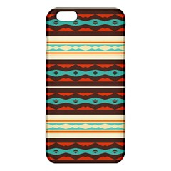 Stripes and rhombus chains                                      			iPhone 6 Plus/6S Plus TPU Case