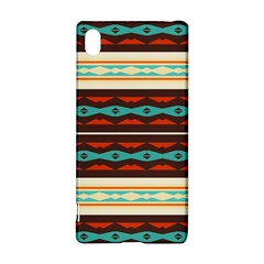 Stripes and rhombus chains                                      Sony Xperia Z3+ Hardshell Case