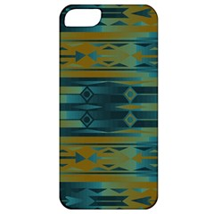 Blue green gradient shapes                                       Apple iPhone 5 Classic Hardshell Case