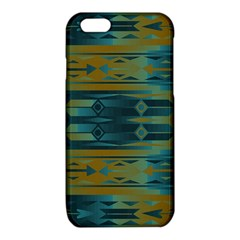 Blue green gradient shapes                                       iPhone 6/6S TPU Case