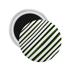 Diagonal Stripes 2.25  Magnets