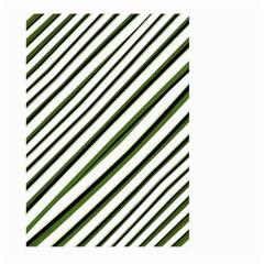Diagonal Stripes Large Garden Flag (Two Sides)