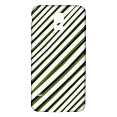 Diagonal Stripes Samsung Galaxy S5 Back Case (White)