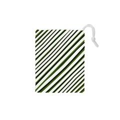 Diagonal Stripes Drawstring Pouches (XS)