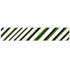 Diagonal Stripes Flano Scarf (Large)