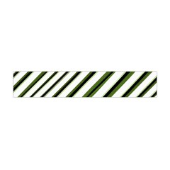 Diagonal Stripes Flano Scarf (mini)