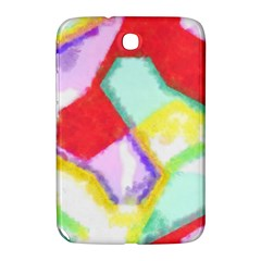 Watercolors Shapes                                         			samsung Galaxy Note 8 0 N5100 Hardshell Case