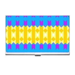 Rhombus and other shapes pattern                                          Business Card Holder