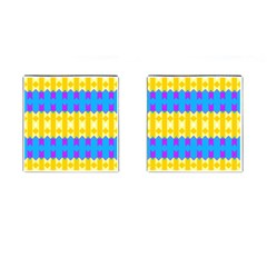 Rhombus and other shapes pattern                                          Cufflinks (Square)