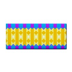 Rhombus and other shapes pattern                                          			Hand Towel
