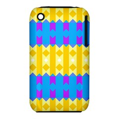 Rhombus and other shapes pattern                                          Apple iPhone 3G/3GS Hardshell Case (PC+Silicone)