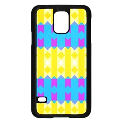 Rhombus and other shapes pattern                                          Samsung Galaxy S5 Case (Black)