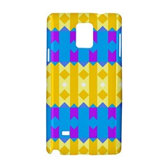 Rhombus And Other Shapes Pattern                                          			samsung Galaxy Note 4 Hardshell Case